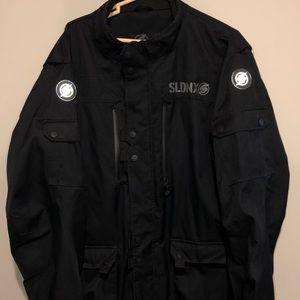 Slednecks snowmobile jacket. Mens Size XXL